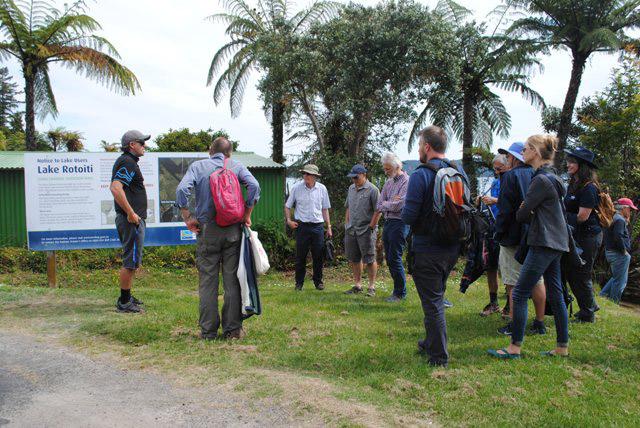 Field trip visit to Lake Rotoiti on the 6 th November.